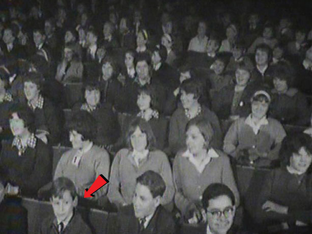 Jo in the front row at Crackerjack
